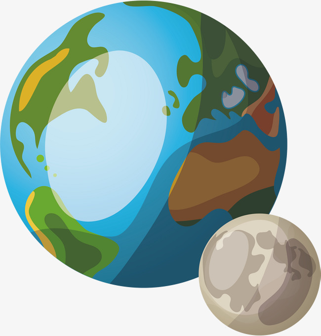 650x680 Two Planets, Cartoon, Two, Hand Painted Planet Png And Vector