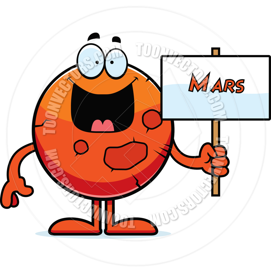 940x940 Cartoon Mars Sign By Cory Thoman Toon Vectors Eps