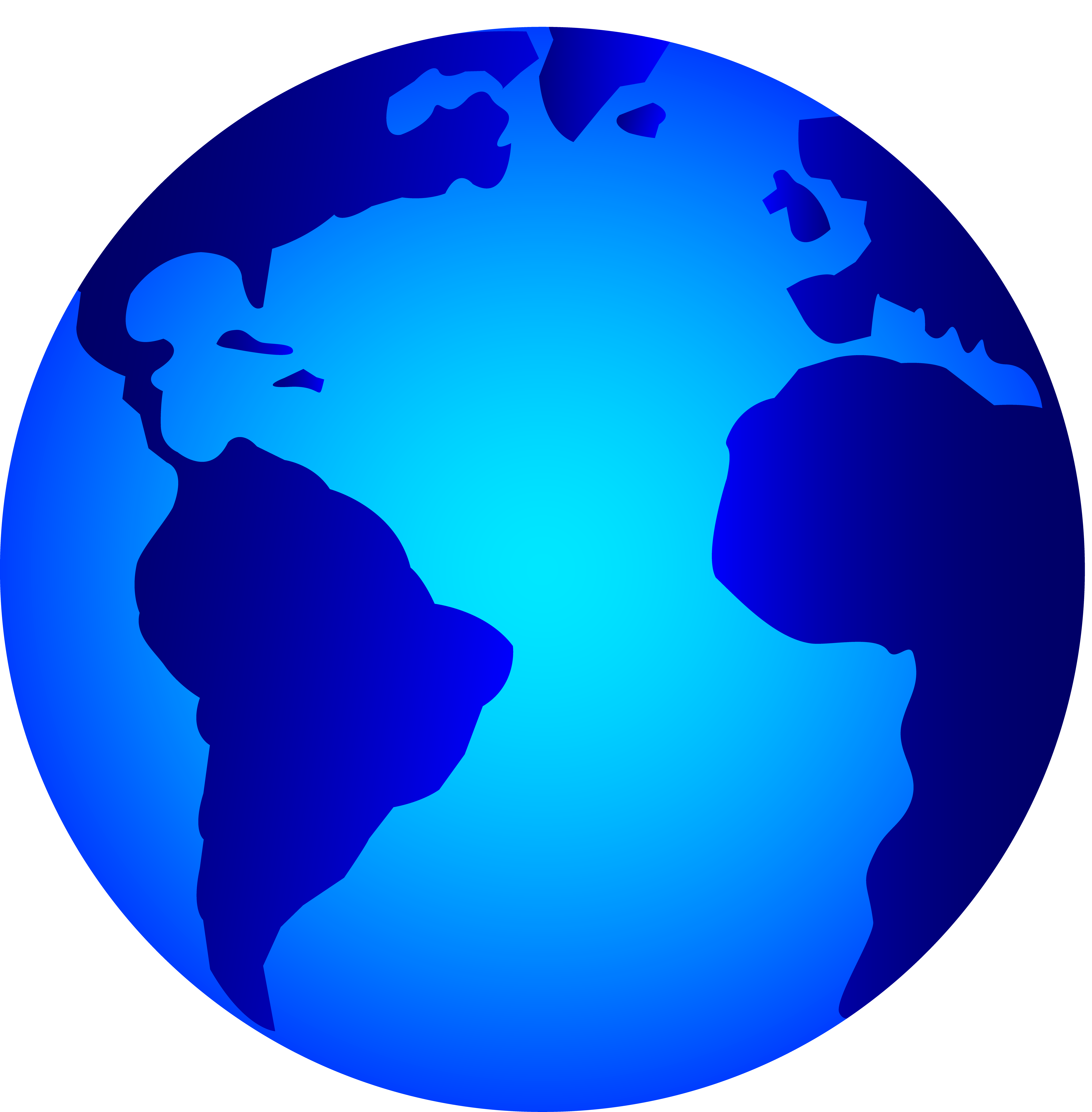 5748x5852 Planets Clipart Earth