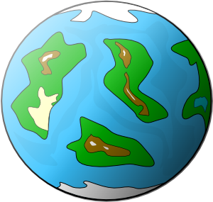 300x285 Planet Symbol Globe Clip Art