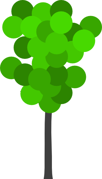 336x590 Cartoon Tree Clip Art