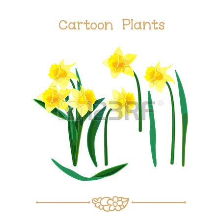 450x450 Illustration Vector Pic Series Cartoon Plants. Rose Flower Crown
