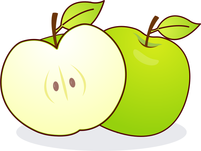 686x515 Apple Clipart