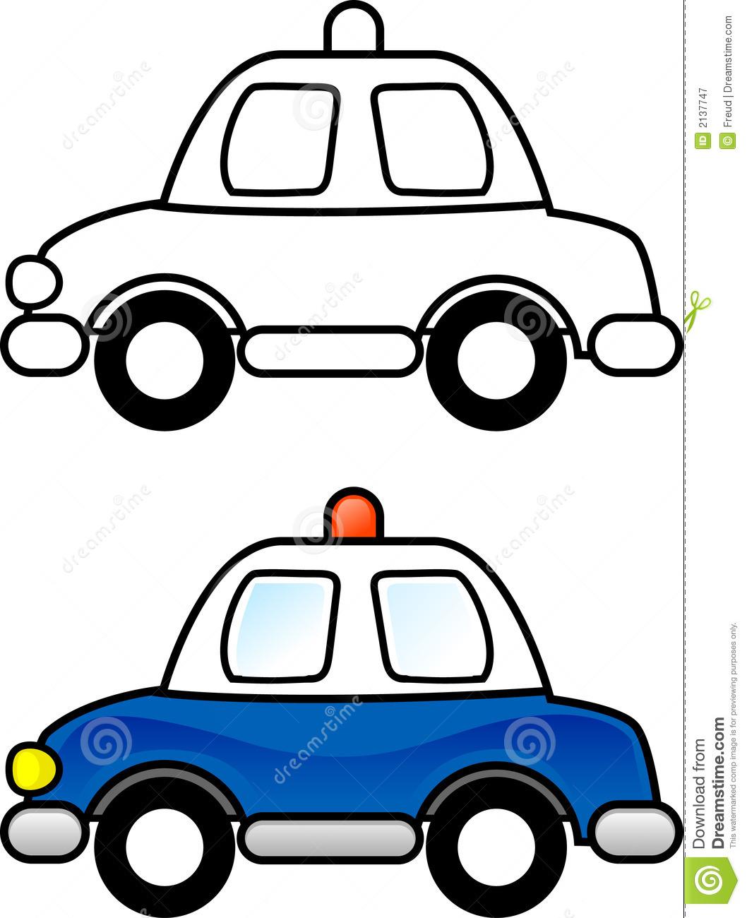 1058x1300 Clipart Police Car Outline