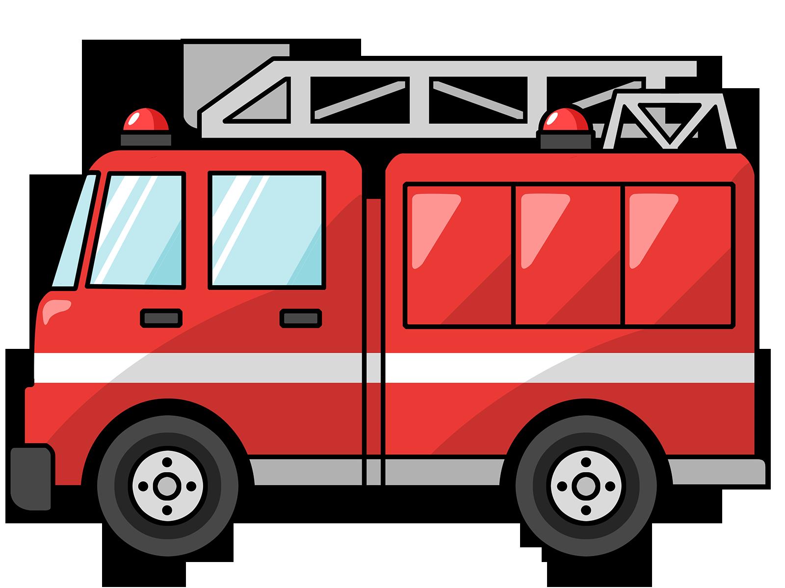 1600x1200 Free Cartoon Fire Truck Clip Art