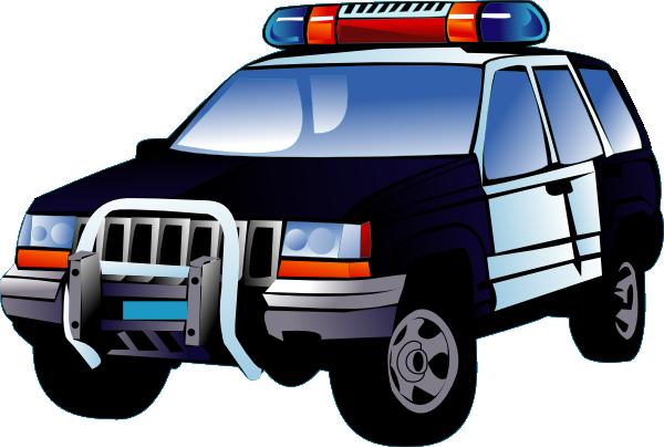 600x404 Police Car Clip Art