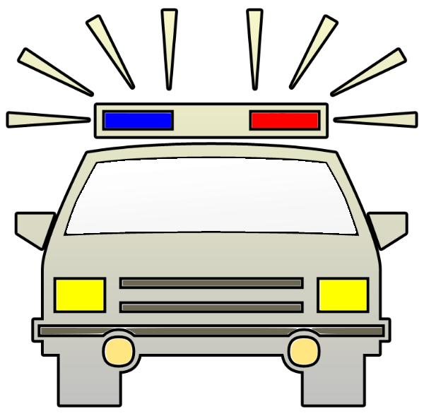 600x589 Police Clip Art Download