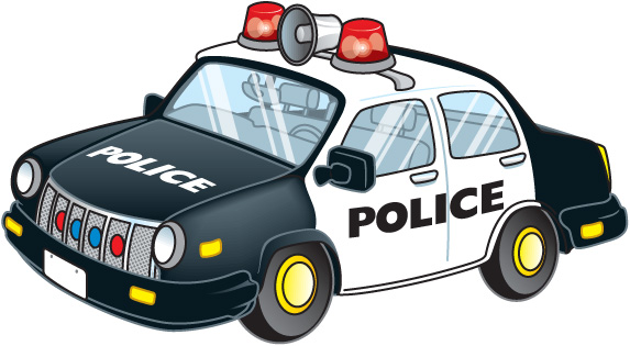 573x315 Police Car Clipart Free Images
