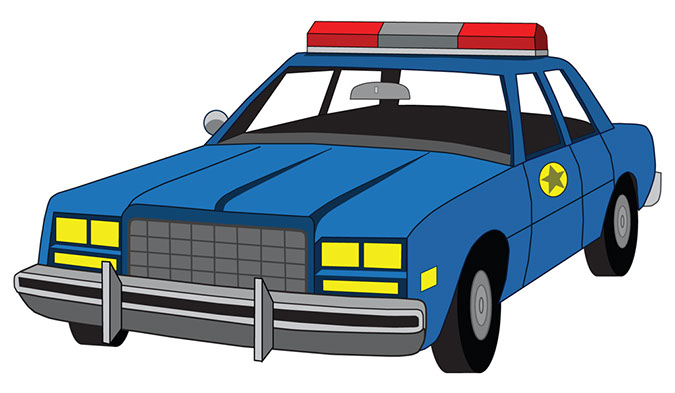 675x393 Police Car Clipart Free Images 4