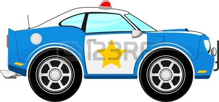 450x209 Race Car Cartoon Isolated On White Background Royalty Free