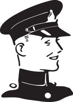 Cartoon Police Hat Clipart