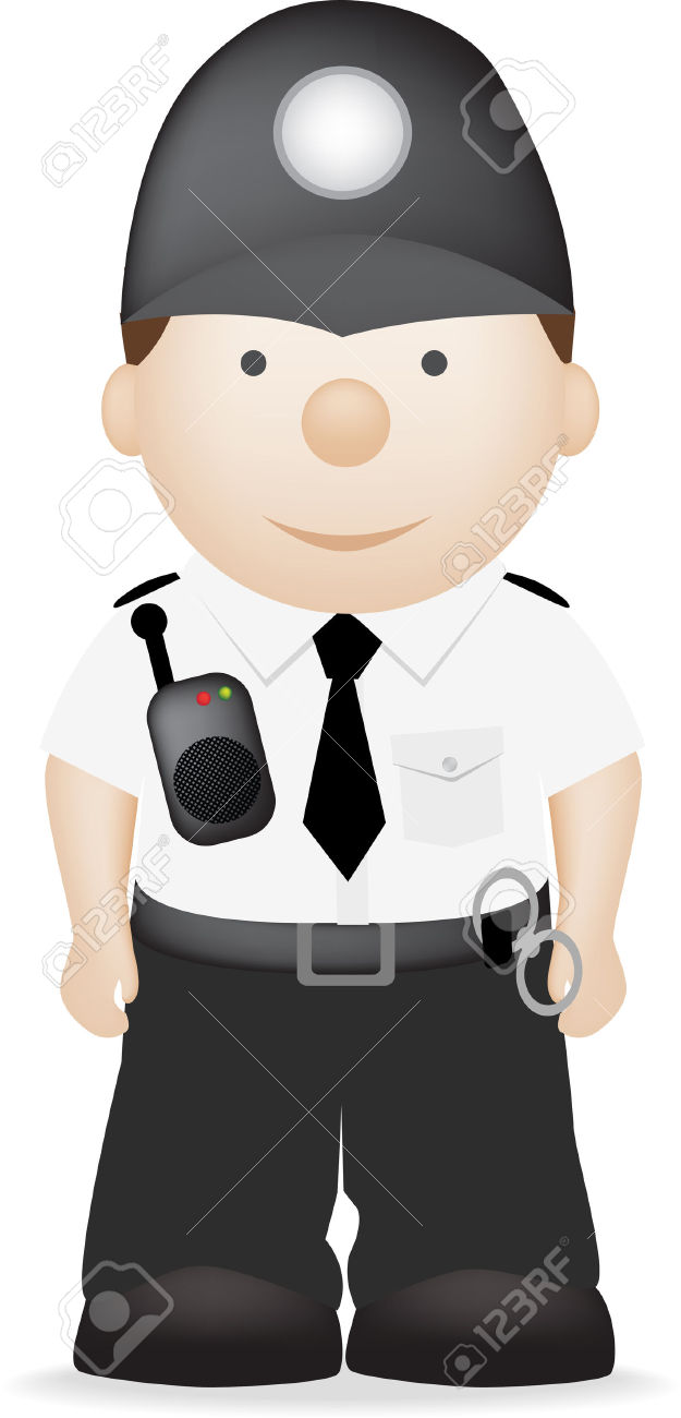625x1300 British Police Clipart