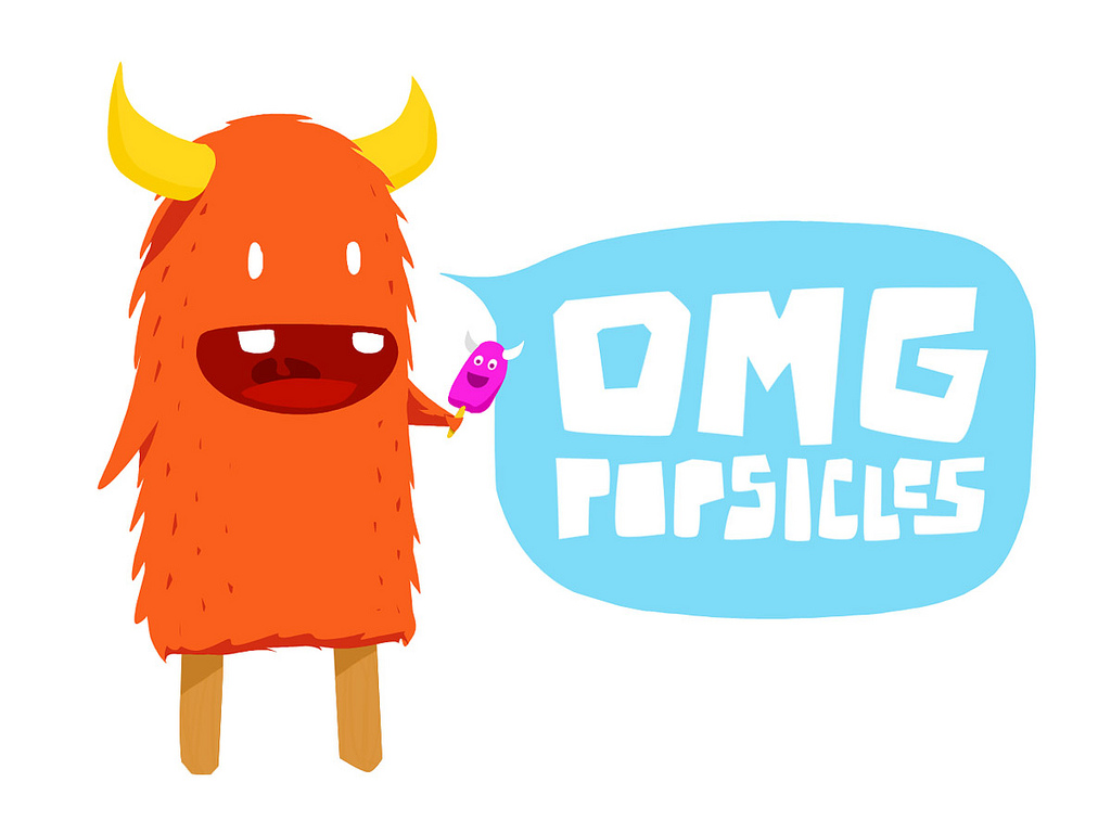 1024x768 Popsicle Monster This Monster Is A Popsicle. Tobias