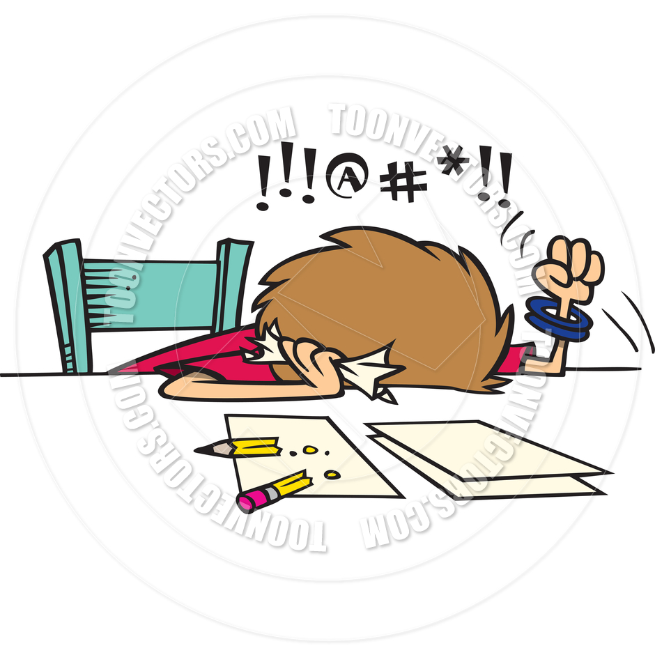 940x940 Frustrated Cartoons Clipart