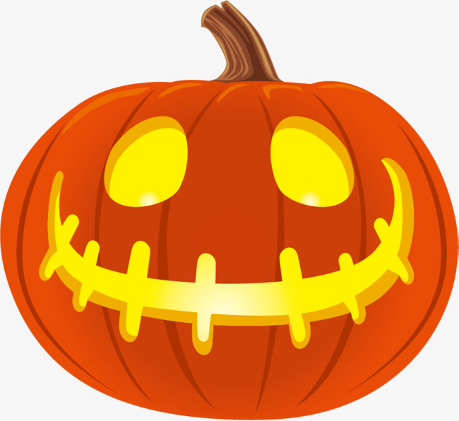 650x596 Cartoon Halloween Pumpkin, Festival, Pumpkin, Smiley Pumpkin Png