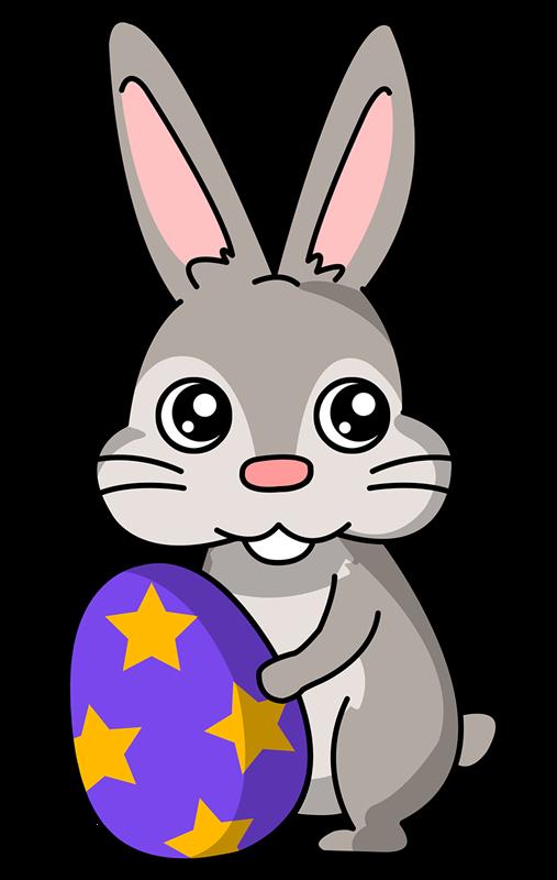507x800 Rabbit clipart simple cartoon