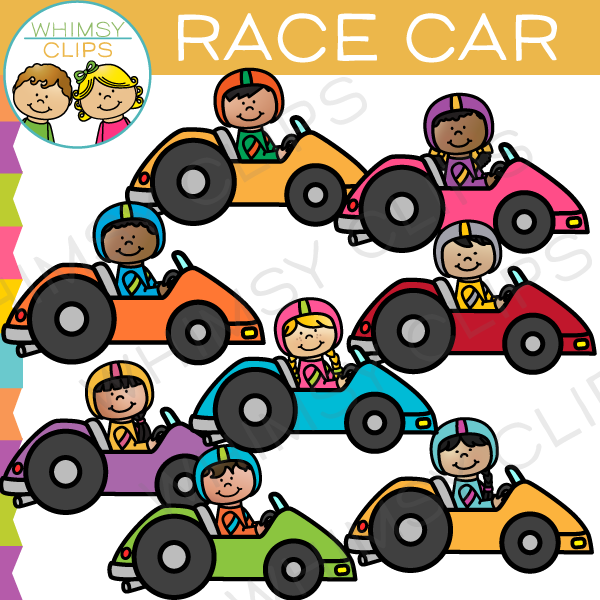 600x600 Race Car Kids Clip Art , Images Amp Illustrations Whimsy Clips