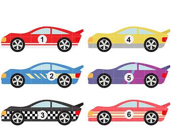 340x270 Race Cars Clip Art