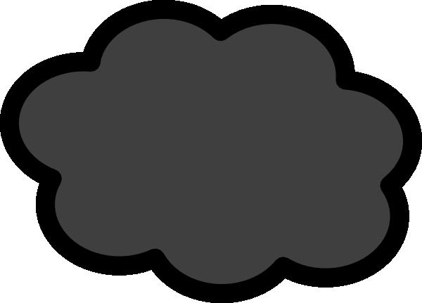 600x431 Dark Storm Cloud Clip Art