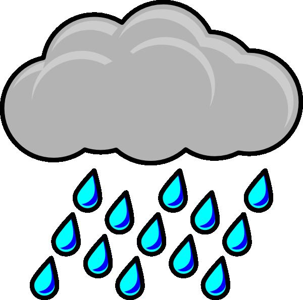 600x595 Rain Cloud Template