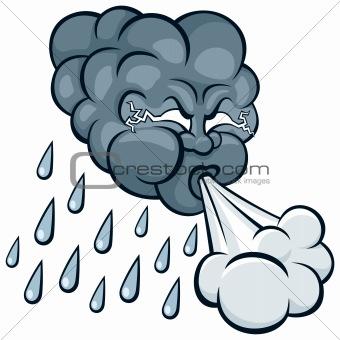 340x340 Rain Clipart Wind Rain