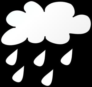 299x285 Raining Cloud Outlne Clip Art