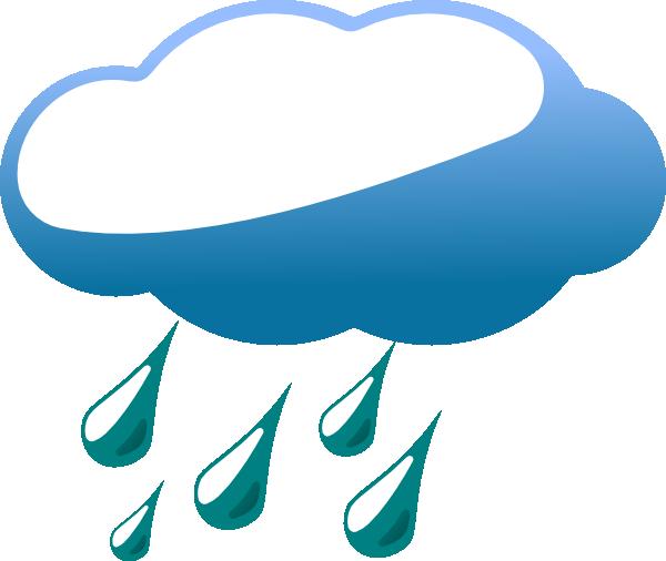 600x506 Rainy Cloud Clip Art
