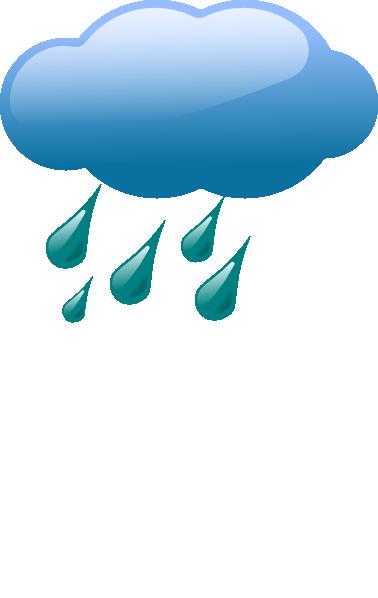 378x598 Cloud Amp Rain Clip Art
