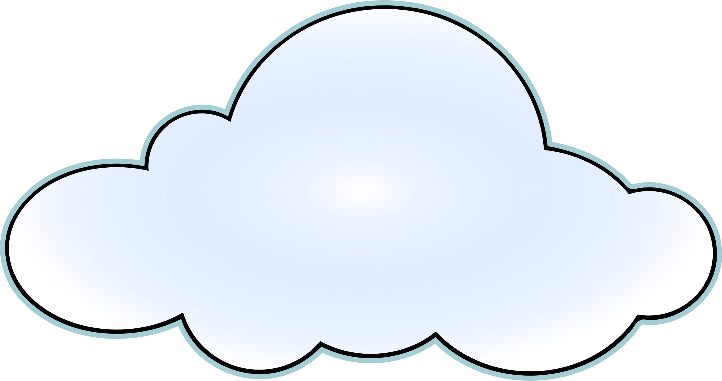 2400x1266 Image Of Cloud Clip Art
