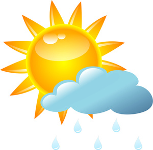 300x295 Rain Shower Clipart Image