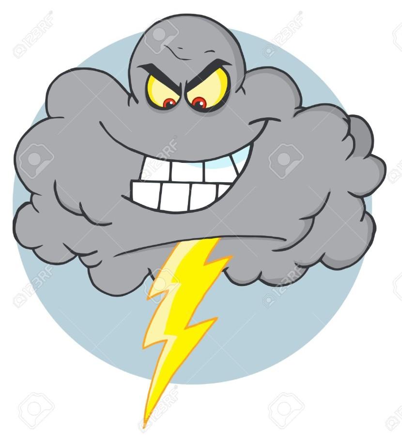 830x912 Rain Clipart Storm Cloud