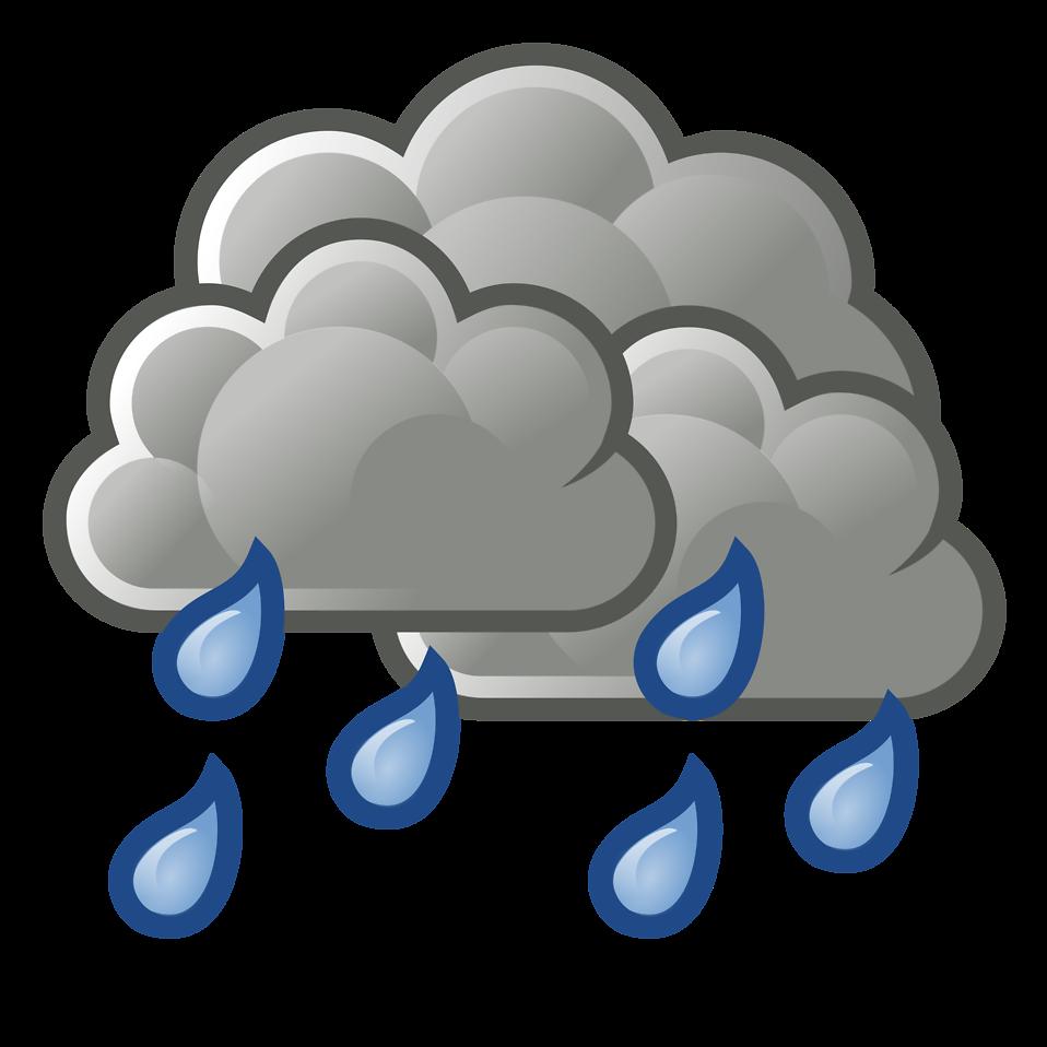 958x958 Rain Clipart Transparent Background