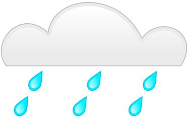 373x235 Rain Clouds Clipart Free Images 5