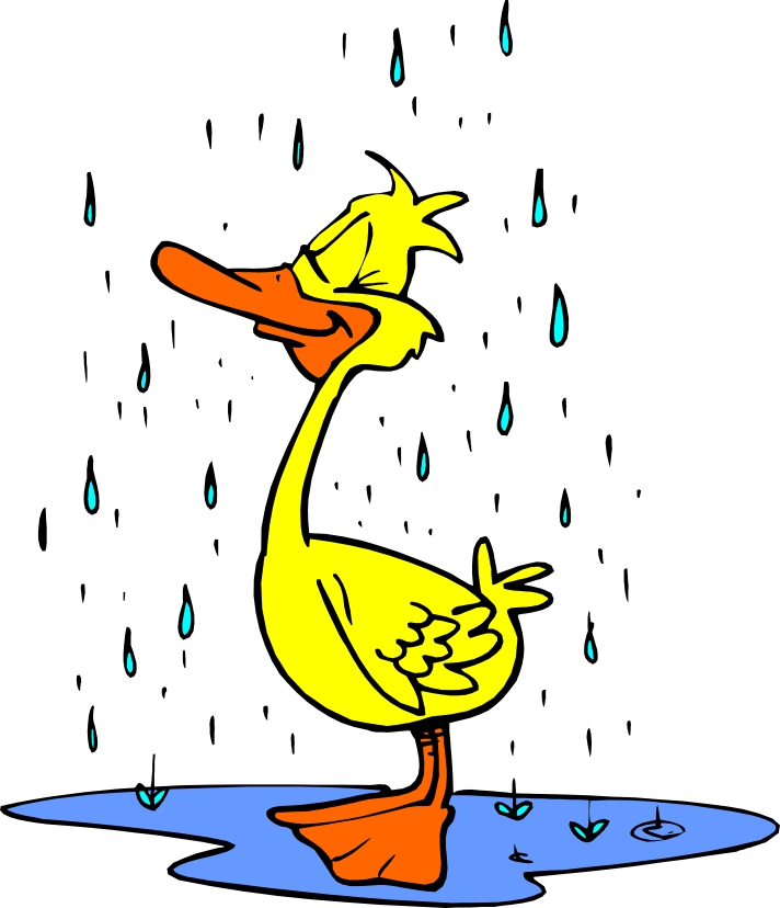 712x828 Cartoon Rain