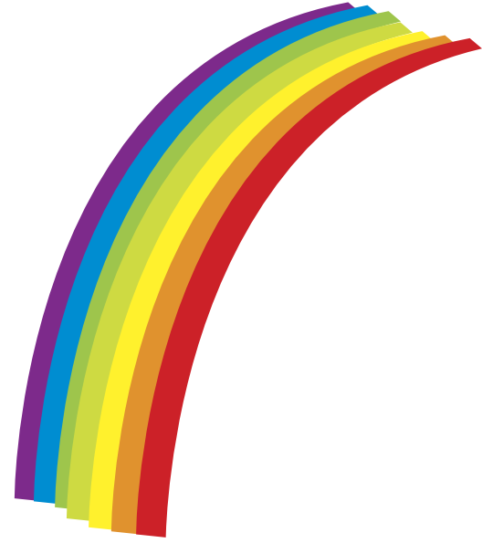 528x595 Rainbow Clip Art