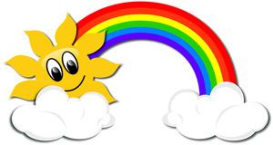 300x160 Rainbow Clipart Image