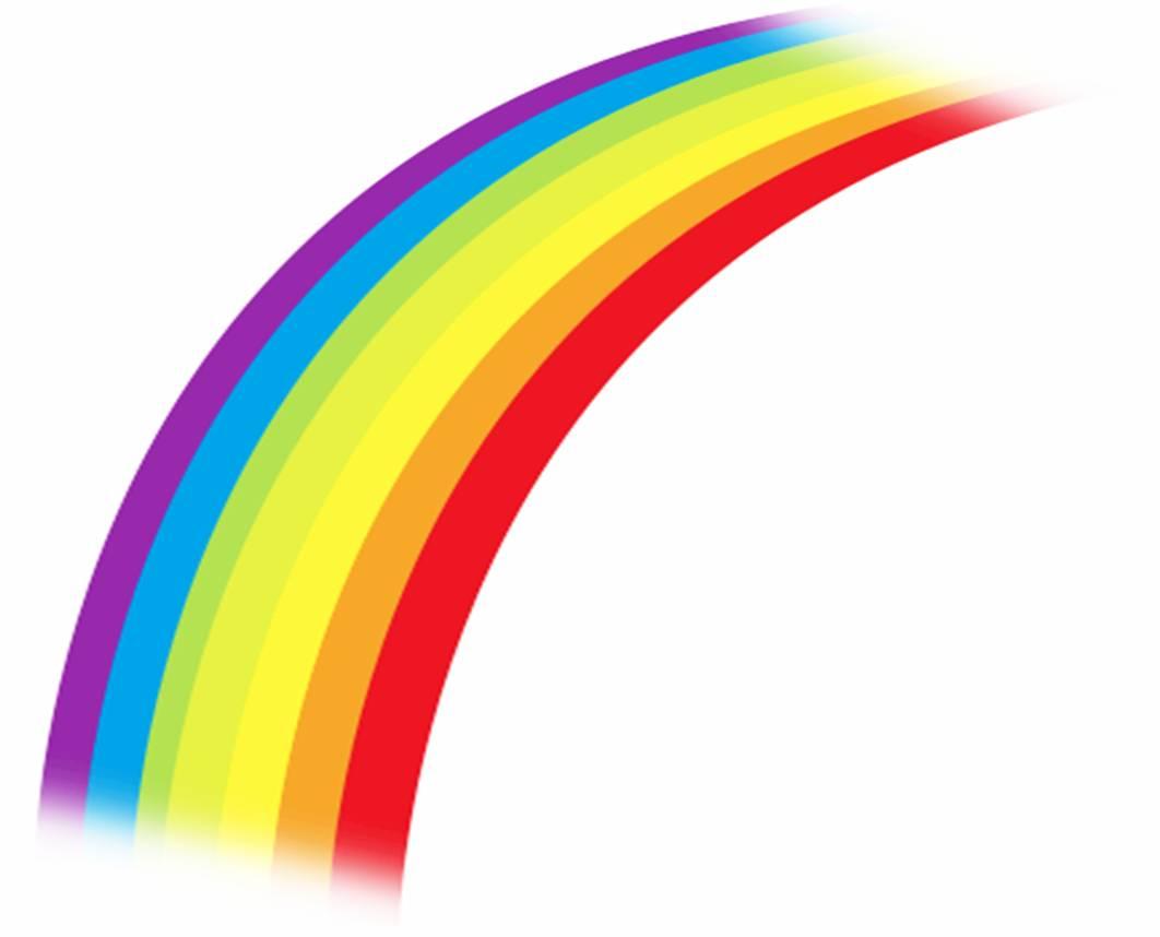 1062x858 Cartoon Rainbow Clipart