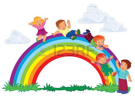 450x338 Rainbow Clipart Slide