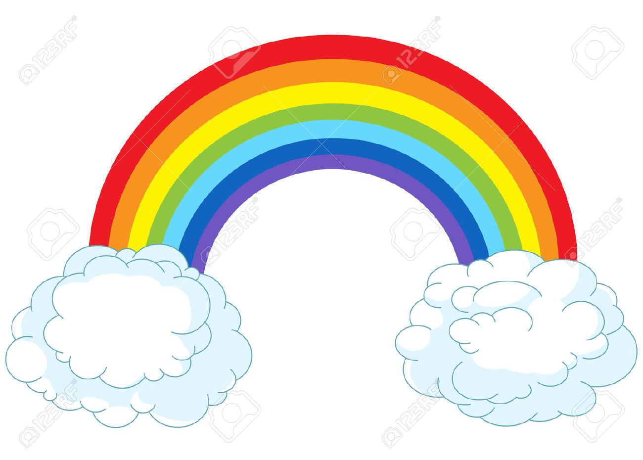 1300x930 Cartoon Rainbows Collection