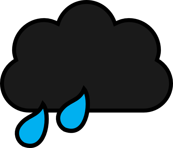 Cartoon Rainy Cloud | Free download on ClipArtMag