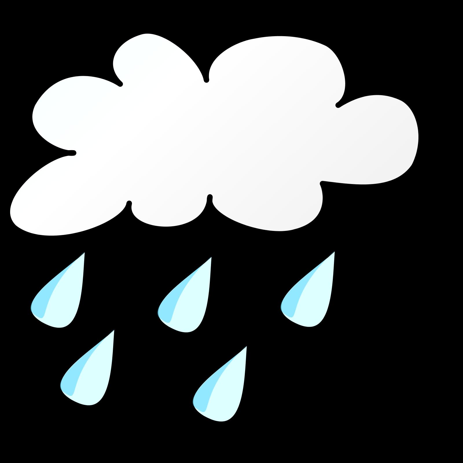 1600x1600 Rainy Cartoon Clipart