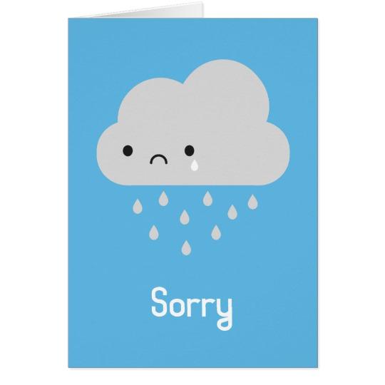 540x540 Sad Kawaii Rain Cloud