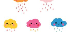 272x125 Animated Rain Clouds Clipart Collection On Rain Clouds Cartoon