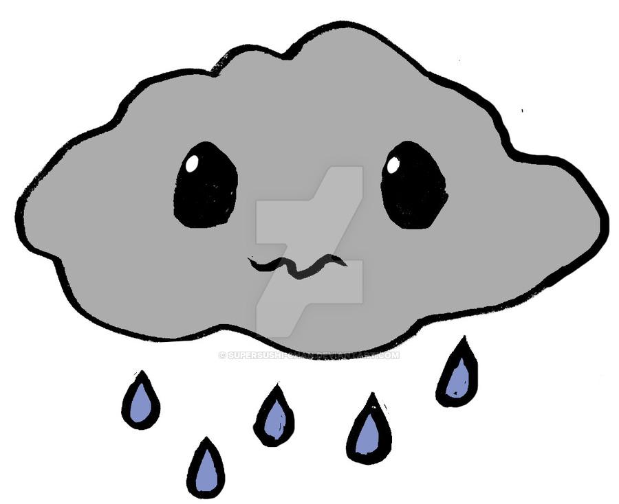 900x734 Little Rain Cloud By Supersushi Chan