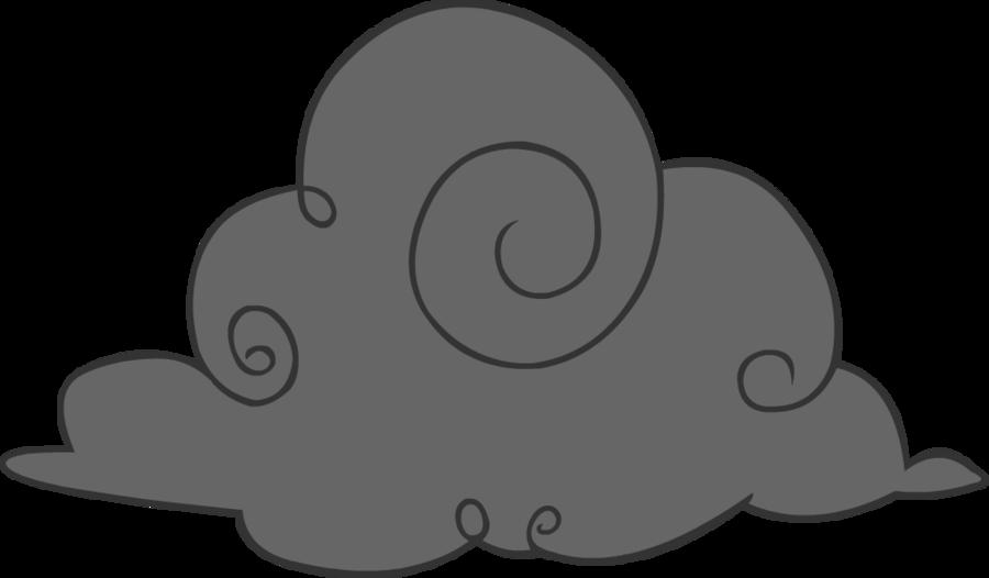 900x526 Cartoon Rain Cloud