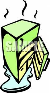 162x300 Colorful Cartoon Of A Refrigerator Defrosting
