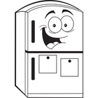 140x140 Clip Art Image Gallery Similar Image Cartoon Empty Fridge