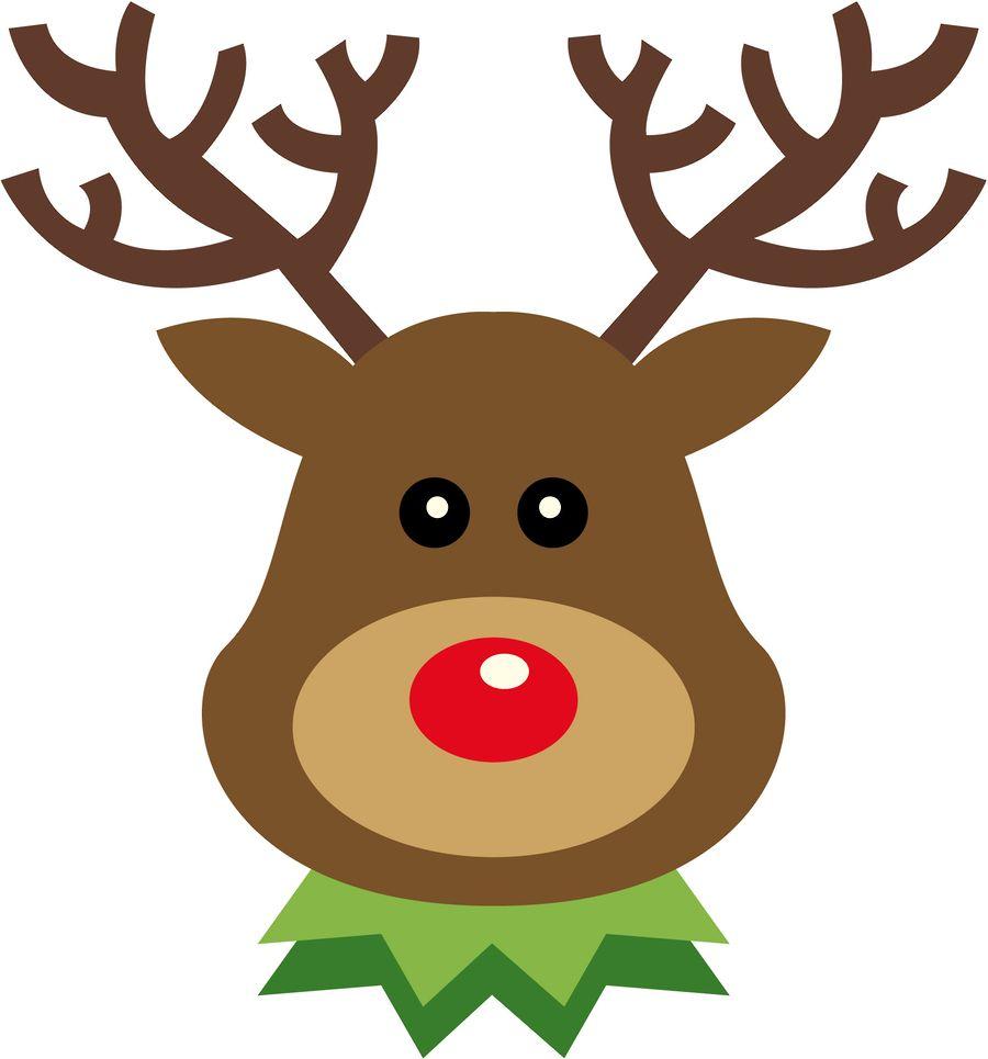 900x965 Christmas Reindeer Clip Art Clip Art