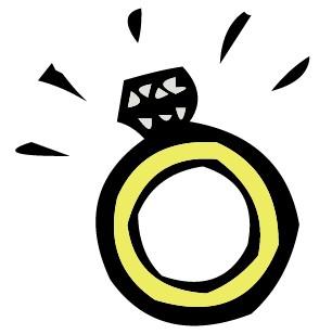 306x308 Engagement Ring Cartoon Clip Art 9 Engagement Rings 2