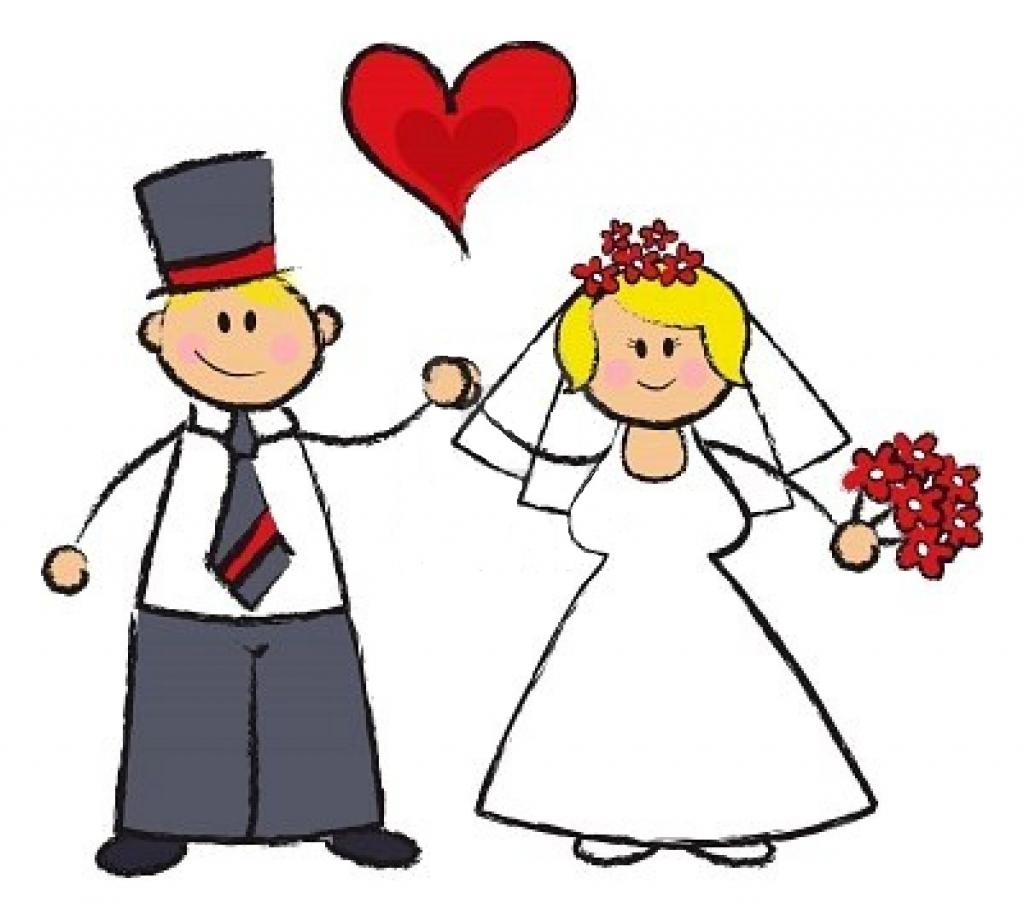 1024x919 Cartoon Wedding Images Clipartsco With Wedding Rings Cartoon
